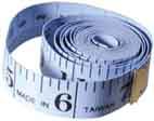 Maßband 218TM150 beidseitig CM 150cm lang