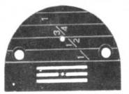 Stichplatte Ø2,0mm 52032 Singer