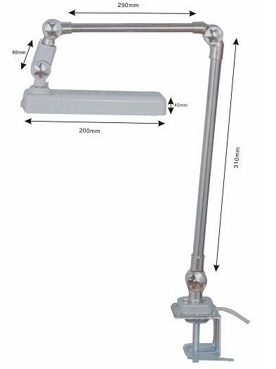 Nählampe LED-18KP-220 Volt / 6 Watt Nähleuchte